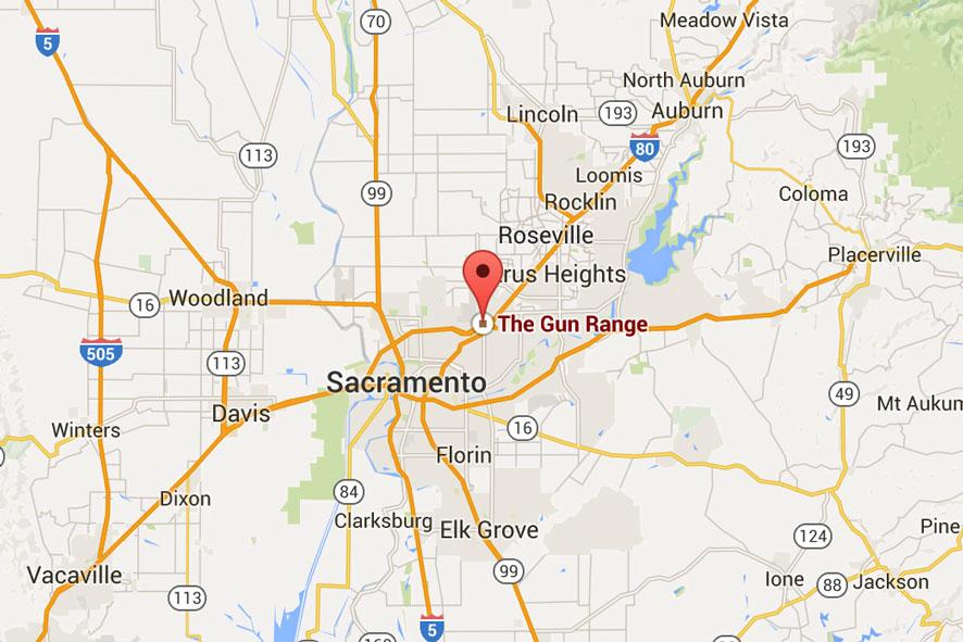 The Gun Range Map